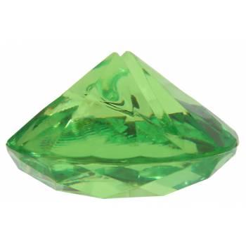 4 Marque-places diamant vert