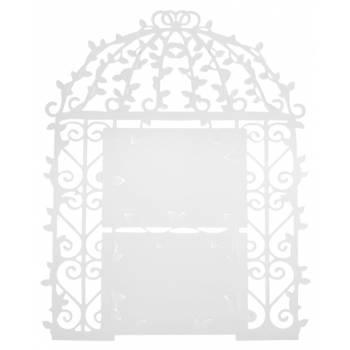 Plan de table cage blanche