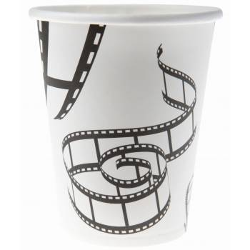 10 gobelets bobine cinéma