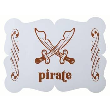 6 Sets de table P'tit Pirate