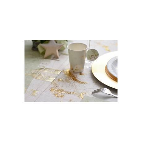 Tube de 15gr de paillettes or à parsemer en deco sur vos tables de fête Dimensions du tube : 8 cm x 3 cm x 3 cm