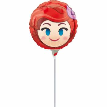 Mini Ballon La Petite sirène emoji gonflé