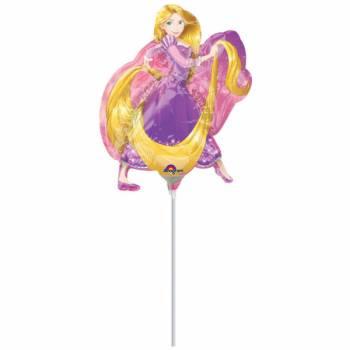 Mini ballon hélium Raiponce