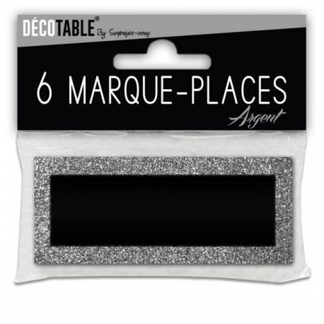 6 Marques place pailletéArgent