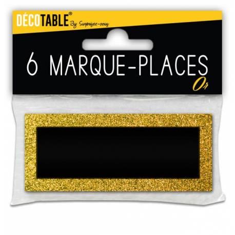 6 Marques place pailletéOr