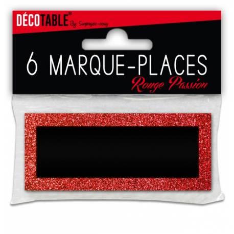 6 Marques place pailletéRouge