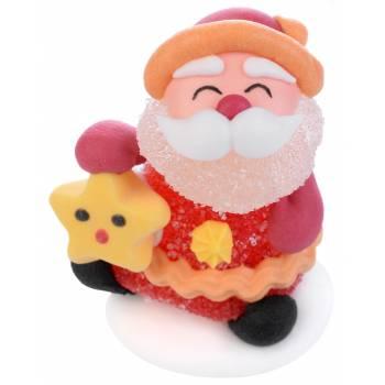 4 Père Noël gélifiés aux fruits