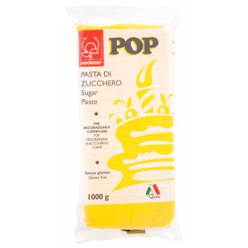Pâte à sucre jaune soleil POP 1kg