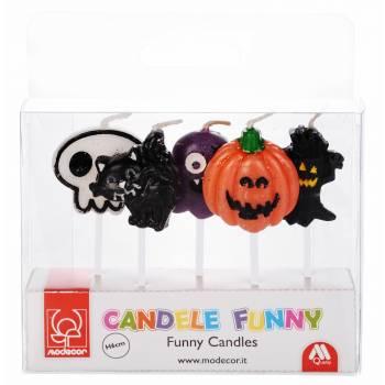 5 Bougies pics Halloween
