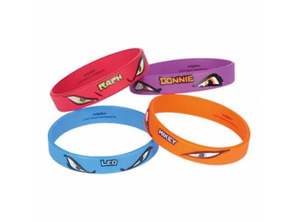 Bracelets tortues ninja deco anniversaire - Tortu ninja nom ...