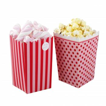 8 Boîtes Pop Corn Pink n mix