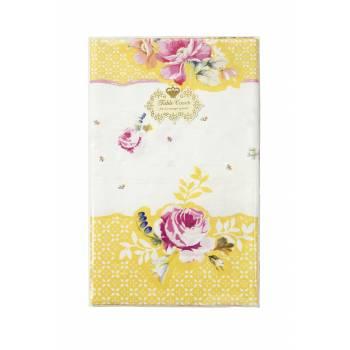 Nappe en papier vintage floral