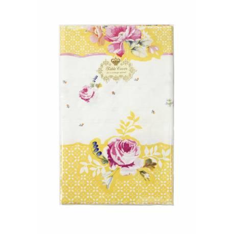 Nappe en papier vintage floral, idéal pour un goûter ou un pic nique dans le jardin, le rétro est ultra tendance ! Dimensions : 180 cm x...