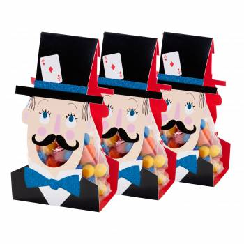 6 Sachets à bonbons magic circus