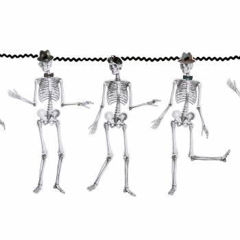 Guirlande Mr et Mme Squelette