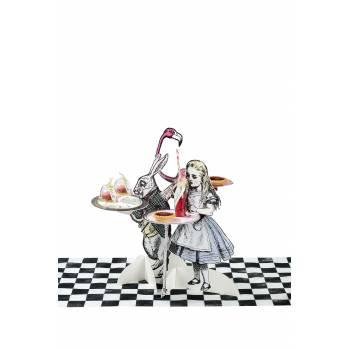 3 Stands à gâteaux Alice vintage