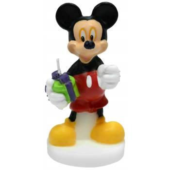 Bougie 3D Mickey Mouse pour gateau
