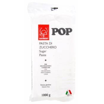 Pâte à sucre blanche POP 1kg