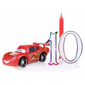 Bougie Cars avec chiffres