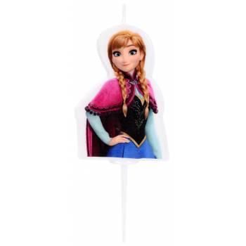 Bougie Reine des neiges Anna