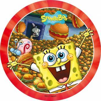 Disque comestible Bob l'éponge burger
