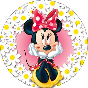 Disque azyme Minnie marguerite