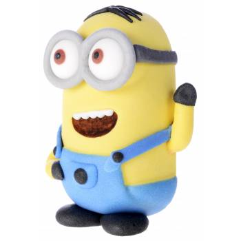 Lot 5 Figurines en sucre 3D Les Minions