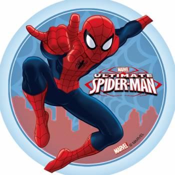 Disque azyme ultimate spiderman 14.5cm