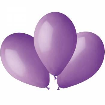 100 Ballons pastel lavande Ø30cm