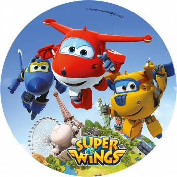 Disque comestible Super Wings