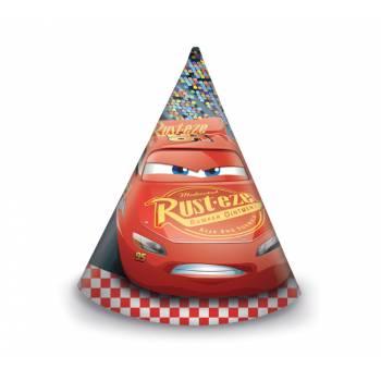6 Chapeaux de fête Cars 3