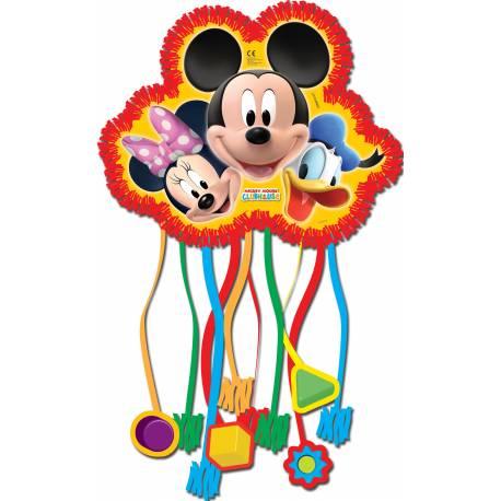 Pinata Mickey à garnir de bonbons lors de l'anniversaire de votre enfant.