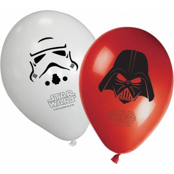 8 Ballons Star Wars final battle