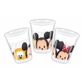 8 Gobelets Disney Tsum Tsum