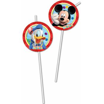 6 Pailles Mickey