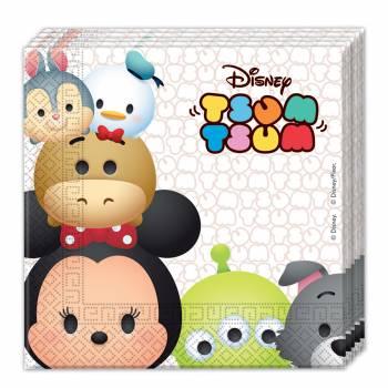 20 serviettes Disney Tsum Tsum