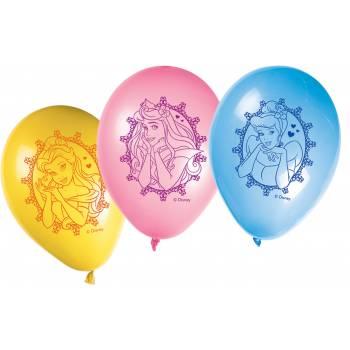 6 Ballons Princesses Disney Glamour