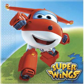 20 Serviettes papier Super Wings