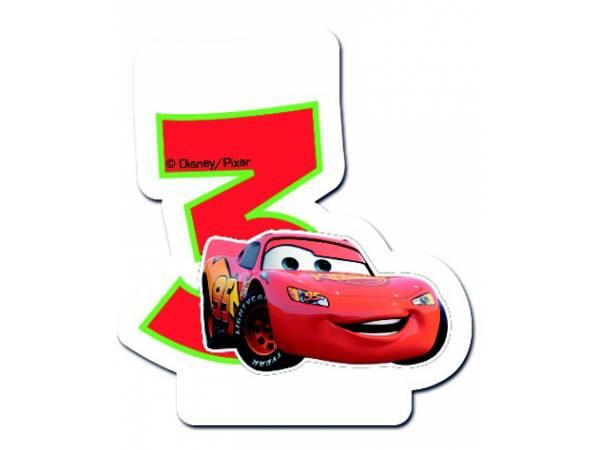 bougie anniversaire cars 3 ans deco anniversaire - Anniversaire Cars