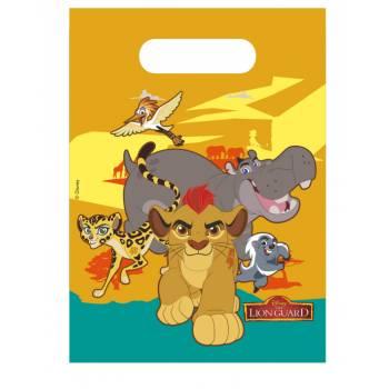 6 Sachets de fête Le Roi Lion