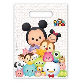 6 Sachets de fête Disney Tsum Tsum