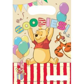 6 Sachets anniversaire Winnie Alphabet