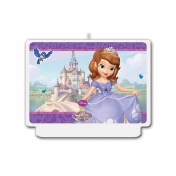 Bougie décor princesse Sofia
