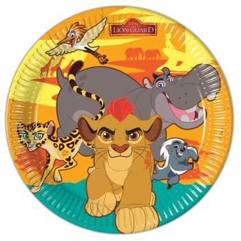 8 Assiettes Le Roi Lion