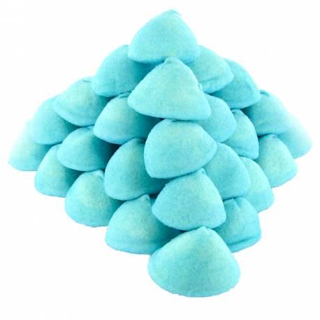 Boule de guimauve sucrée au goût de framboise Ces bonbons sont vraiment idéaux pour faire des brochettes, recouvrir les gâteaux de...