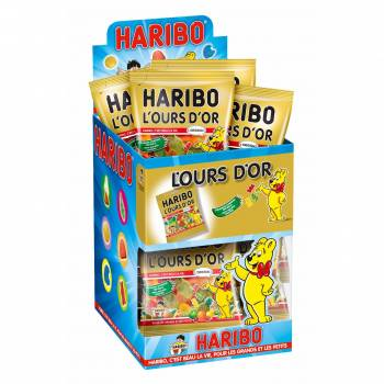 Mini sachet Haribo Ours d'or
