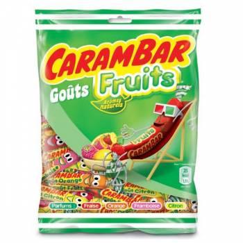 Sachet de Carambar aux fruits 130 gr