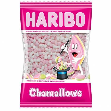 Sachet de 1 Kg de mini chamallow Haribo Super pour vos cupcakes, glaces et chocolat chaud
