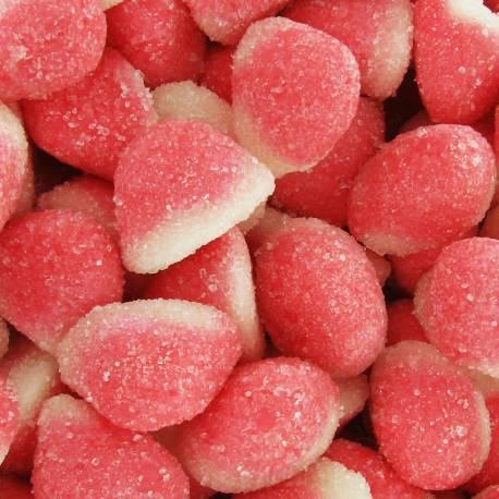 Paquet de 1 kg de bonbons gélifiés à la fraise