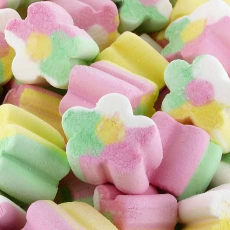 Paquet de marshmallow finitronc en forme de fleur de la marque FINI aux goût fruit Idéal pour pour réaliser des gâteaux de...